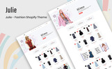 Julie - Fashion Shopify Theme