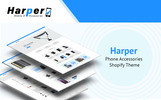 Responsivt Harper - Phone Accessories Shopify-tema