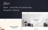 Responsywny szablon Shopify Alan - Kitchen Accessories #77391