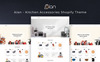 Alan - Kitchen Accessories Shopify Theme Big Screenshot