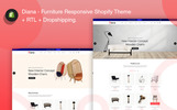Diana - Furniture Responsive Shopify Theme
