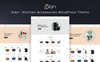 "Template WooCommerce Responsive #77644 ""Alan - Kitchen Accessories Grand"" Screenshot grande"