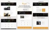 "WordPress Theme namens ""Filmudio - Movie Production, Film studio, Creative & Entertainment"""