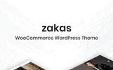 """""""Zakas -"""" thème WooCommerce adaptatif"""