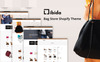 "Template Shopify Responsive #80551 ""Libida – Bag Store"" Screenshot grande"