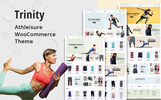 Tema WooCommerce para Sitio de Fitness