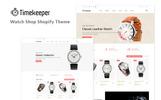 "Shopify Theme namens ""Timekeeper - Multipurpose"""
