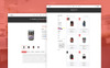 """Fitex - Sport Nutrition"" Responsive Shopify Thema Groot  Screenshot"