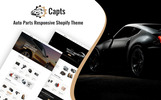 """Capts - Auto Parts Responsive"" 响应式Shopify模板"