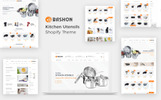 Responsivt Bashon - Kitchen Utensils Shopify-tema