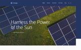 "WordPress шаблон ""Energia - Renewable Energy & Environment"""
