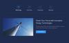 "WordPress шаблон ""Energia - Renewable Energy & Environment"" Большой скриншот"