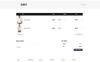 """WooCommerce Theme namens """"Fura - Fashion"""" Großer Screenshot"""