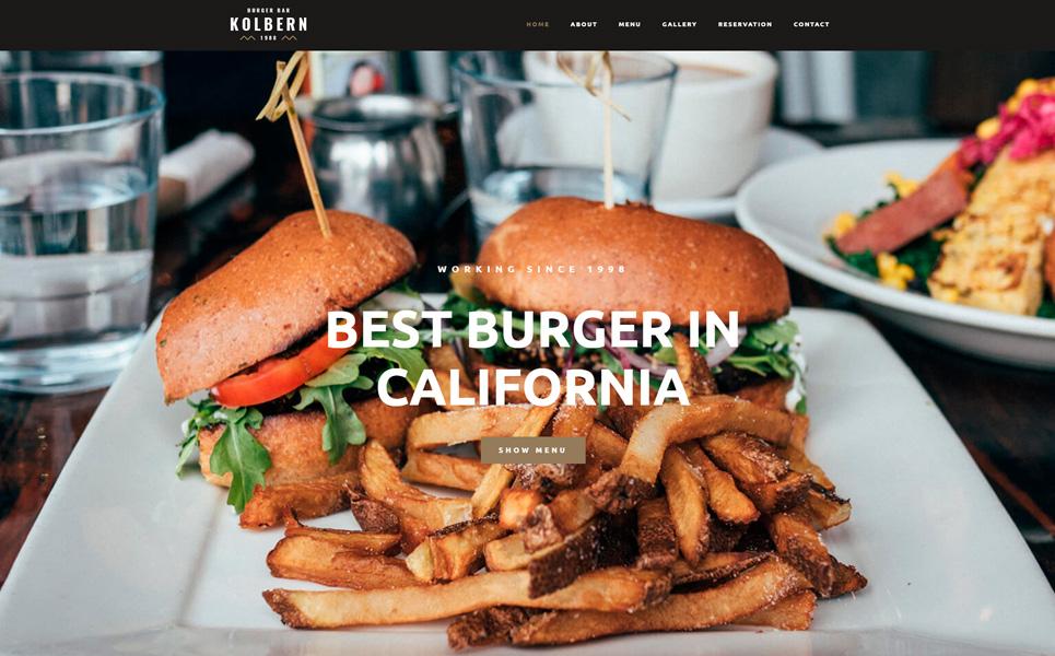 10 plantillas Wordpress para cafeterías y restaurantes 10