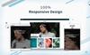 Oristi Photography HTML Website Template Big Screenshot
