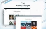 Oristi Photography HTML Website Template