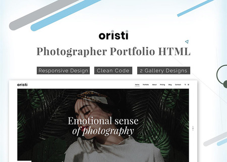 Oristi Photography HTML