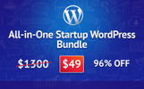 All-in-One Startup WordPress Bundle