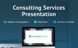 Business Slides - Consulting Services Template PowerPoint №73790