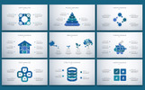 """PowerPoint šablona """"Business Slides - Consulting Services"""""""