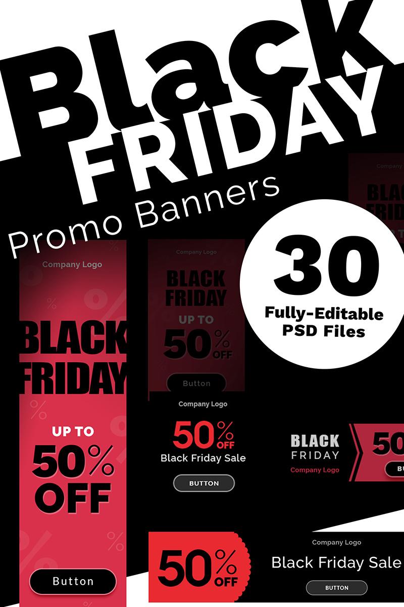 9b33af04d9c8 Black Friday Promo Banners Bundle 73850