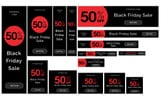Black Friday Promo Banners Bundle