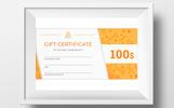 Szablon certyfikatu Gift #73894