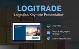 "Keynote Vorlage namens ""LogiTrade Logistics Presentation"""