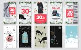 10 Christmas Instagram Stories Banners Social Media