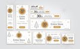 20 Christmas Promo Banners Bundle