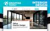 Reszponzív Gravitas - Interior Design MotoCMS 3 Nyítóoldal sablon New Screenshots BIG