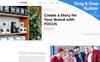 "Responzivní Moto CMS 3 šablona ""Focus - PR Company"" New Screenshots BIG"