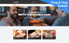 "Template Moto CMS 3 Responsive #78088 ""Sports Bar & Restaurant"" New Screenshots BIG"