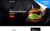 Plantilla para Página de Aterrizaje para Sitio de Restaurantes de comida rápida New Screenshots BIG