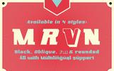 Font Marvin black #74393