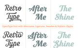 Seren Script - Font