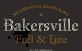 Bakersville - Font