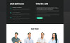 PTS - Psychology Clinic Multipage HTML5 Website Template Big Screenshot
