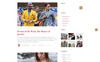 """The Ultimate Clothing - Fashion Magazine Multipage HTML5"" 响应式网页模板 大的屏幕截图"