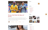 """The Ultimate Clothing - Fashion Magazine Multipage HTML5"" - адаптивний Шаблон сайту"
