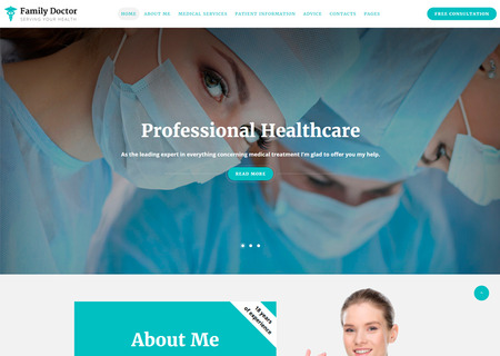Medical Consulting Multipage HTML5