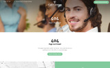 Call Center - Responsive Call Center Multipage HTML Template Web №67773