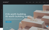 "HTML шаблон ""Awatec - Stylish Construction Company Multipage HTML"""
