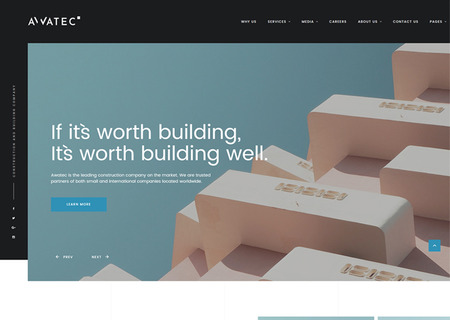 Construction Multipage HTML