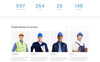 "HTML шаблон ""Awatec - Stylish Construction Company Multipage HTML"" Большой скриншот"