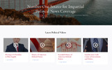 Politico - Political Magazine Multipage HTML5 Website Template