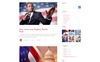 Politico - Political Magazine Multipage HTML5 Website Template Big Screenshot