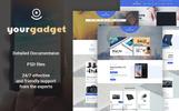 Tema PrestaShop  Flexível para Sites de Loja de Eletrônicos №67825