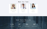 """Rocket Host - Domain And Hosting Multipage HTML5"" Responsive Website template"