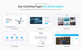 "WordPress Theme namens ""Quadcraft - Drone Startup"""